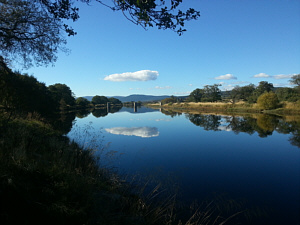 Lower Railway Pool, River Spey, Abernethy