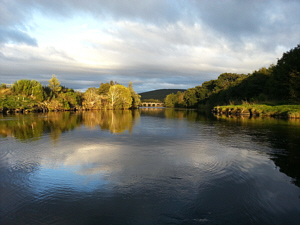 The Nethy Pool on The River Spey