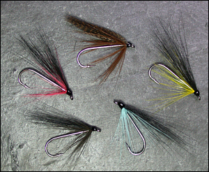 Simple Sea Trout Flies