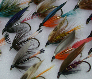 Traditional Sea Trout Flies